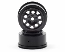 Associated SC10 KMC Front Wheels - Black