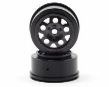 Associated SC10 KMC Front Wheels - Black