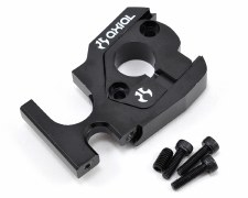 Axial EXO Aluminum Adjustable Motor Mount Plates - Black