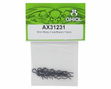 Axial 8mm Body Clip - 10 pack