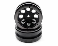 Axial 8-Hole 1.9 Beadlock Wheels - Black (2)