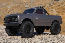 Axial SCX24 1967 Chevrolet C10 1/24 4WD Ready to Run Scale Mini Crawler (Dark Silver)