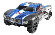 Redcat Racing Blackout SC Pro 1/10 Scale Brushless 4WD Short Course Truck Ready to Run - Blue