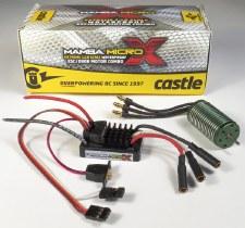 Castle Creations Mamba Micro X 1/18 ESC & 5300KV Brushless Motor Combo
