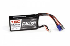 7.4V 5200mAh 2S 15C LiP0: 5ive