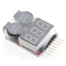 LiPo Voltage Checker/Warning A