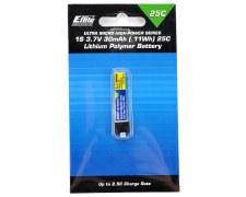 Eflite 3.7V 30mah 1S 25C Lipo Battery