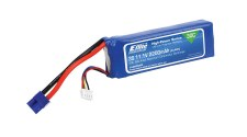 Eflite 11.1V 2200mah 3S 20C Lipo Battery with EC3 Connector