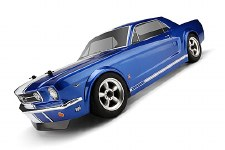 HPI 1966 Ford Mustang GT Coupe Body 200mm (Clear)