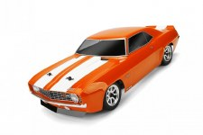 HPI 1969 Chevrolet Camaro Z28 Body 200mm (Clear)