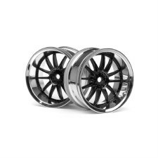 HPI Work XSA 02C Wheel, 26mm with 6mm Offset (2)