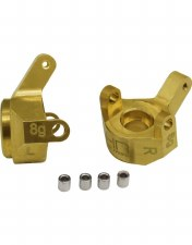 Hot Racing Axial SCX24 Brass Front Steering Knuckles (2)