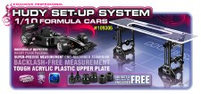 Hudy Ultimate Exlusive Set-Up Systems for 1/10 Formula One