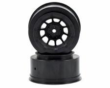 Front Hazard Wheel, Black (2)