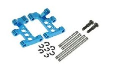3Racing Front Aluminum Lower Suspension Arms for Tamiya M05