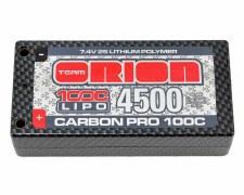 Orion Carbon Pro 7.4V 4500mah 2S 100C Ultra Shorty Lipo Battery