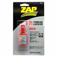 Pacer Technology ZAP Z-71 Red Thread Locker