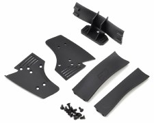 Protoform 1/10 F1 Rear Wing (Black)