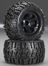 ProLine Pre-Mounted Trencher Tires & Desperado Wheels (1/16) (2)