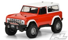 73 Bronco Clear Body:1/10 Rck