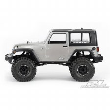 ProLine 2009 Jeep Wrangler 1/10 Rock Crawler Body (Clear)