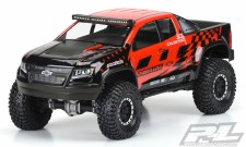 Chevy Colorado ZR2 Clear Body,