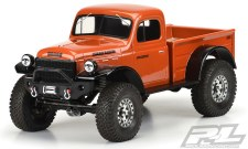 Pro-Line Axial SCX24 1946 Dodge Power Wagon Body (Clear)