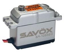 "Savox SA-1283SG Aluminum Case Digital ""Super Torque"" Steel Gear Servo"