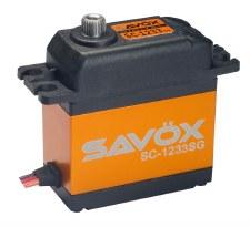 """Savox SC-1233SG Tall Digital """"High Speed"""" Steel Gear Servo"""