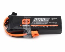 Spektrum RC 3S Smart Lipo 30C Battery Pack with IC3 Connector (11.1V/2200mah)