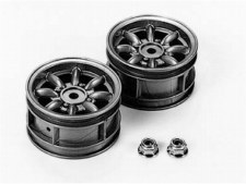 Tamiya Mini Cooper Silver Wheels (2)