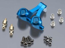 Tamiya M05 Aluminum Front Upight Set (Blue)
