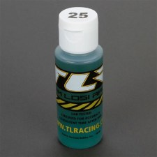 TLR 25Wt Silicone Shock Oil, 2oz