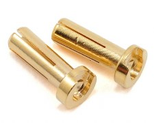 TQ 4mm Bullet Connector Male 14mm Long (2)