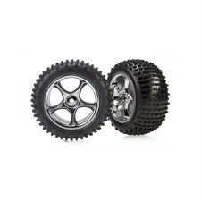 Traxxas Bandit Rear Alias 2.2 Tires & Wheels (2) (Standard)