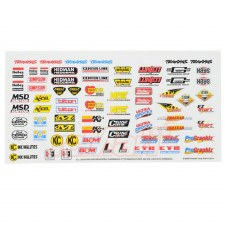 Traxxas Racing Sponsors Decal