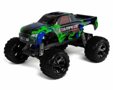 Traxxas 1/10 Stampede VXL Brushless Monster Truck 2WD Ready to Run (Green)