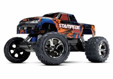 Traxxas 1/10 Stampede VXL Brushless Monster Truck 2WD Ready to Run (Orange)