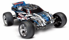 Traxxas 1/10 Rustler Stadium Truck 2WD Ready to Run (Blue)