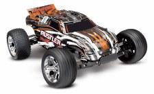 Traxxas 1/10 Rustler Stadium Truck 2WD Ready to Run (Orange)