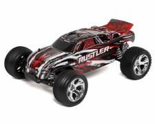 Traxxas 1/10 Rustler Stadium Truck 2WD Ready to Run (Red)