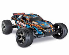 Traxxas 1/10 Ruster VXL Brushless Stadium Truck 2WD Ready to Run (Orange)