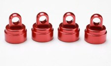 Alum Shock Caps,Red (4):SLH