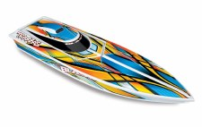 "Traxxas Blast 24"" Ready to Run Brushed Boat (Orange)"