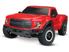 Traxxas 2017 Ford Raptor 1/10 Slash 2WD Short Course Truck Ready to Run (Red)