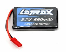 LiPo 1S 3.7V 650mAh 20C Latrax