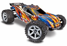 Traxxas 1/10 Rustler 4x4 VXL Brushless Stadium Truck Ready to Run (Orange)