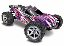 Traxxas 1/10 Rustler 4x4 VXL Brushless Stadium Truck Ready to Run (Pink)