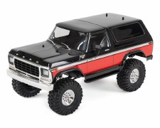 BACK ORDER AVAILABLE - Traxxas TRX-4 1/10 Trail Crawler Truck w/ 79' Bronco Ranger XLT Body (Red)