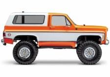 BACK ORDER AVAILABLE - Traxxas TRX-4 1/10 Trail Crawler Truck w/ 79' Chevrolet K5 Blazer Body (Orange)